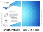 light blue vector  pattern for...