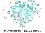 light blue vector texture with...   Shutterstock .eps vector #1012158970