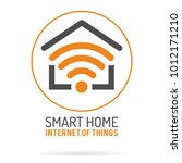 smart home and internet of... | Shutterstock .eps vector #1012171210