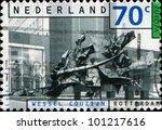 netherlands   circa 1993  a... | Shutterstock . vector #101217616