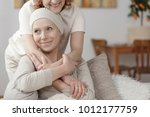family member supporting sick... | Shutterstock . vector #1012177759
