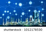 industry4.0 and iot internet of ... | Shutterstock . vector #1012178530