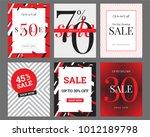 sale banner template design.... | Shutterstock .eps vector #1012189798