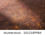 rusty metal texture background... | Shutterstock . vector #1012189984