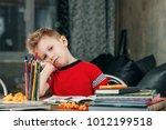 Thinking Child Bored ...