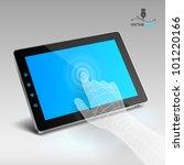 tablet | Shutterstock .eps vector #101220166