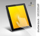 tablet | Shutterstock .eps vector #101220169