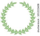vector illustration of green... | Shutterstock .eps vector #101222608