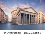 View Of Pantheon In The Mornin...