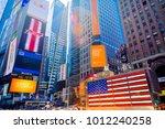new york  ny   june 8th  2014 ... | Shutterstock . vector #1012240258