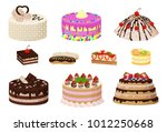 sweet bakery collection  poster ... | Shutterstock .eps vector #1012250668