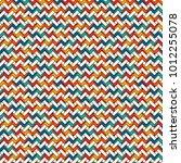 herringbone wallpaper. abstract ... | Shutterstock .eps vector #1012255078
