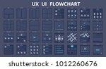 ui ux flowchart scheme...