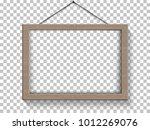 vector picture frame mock ups. | Shutterstock .eps vector #1012269076