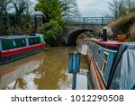 canal river in the english... | Shutterstock . vector #1012290508