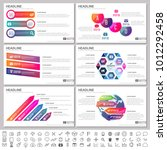 modern elements of infographics ... | Shutterstock .eps vector #1012292458