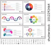 modern elements of infographics ... | Shutterstock .eps vector #1012292464