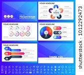 modern elements of infographics ...   Shutterstock .eps vector #1012292473