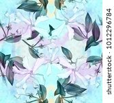 jasmine   flowers  buds  leaves....   Shutterstock . vector #1012296784