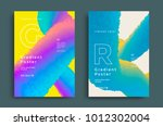 creative design poster with... | Shutterstock .eps vector #1012302004