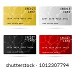 member card  business vip card  ... | Shutterstock .eps vector #1012307794