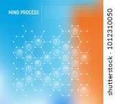 mind process concept in... | Shutterstock .eps vector #1012310050
