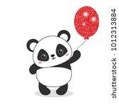 Panda Bear Illustration. Panda...