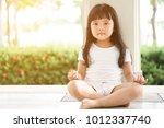 asian children cute or kid girl ... | Shutterstock . vector #1012337740