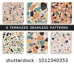 Six Seamless Terrazzo Patterns...