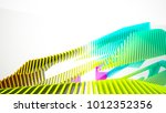 abstract white and colored... | Shutterstock . vector #1012352356