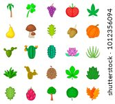 sow the field icons set.... | Shutterstock .eps vector #1012356094