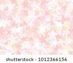 cherry blossom vector background | Shutterstock .eps vector #1012366156