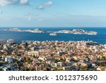 view of marseille from basilica ... | Shutterstock . vector #1012375690