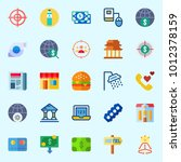 icons set about lifestyle with... | Shutterstock .eps vector #1012378159