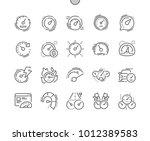 speedometer well crafted pixel... | Shutterstock .eps vector #1012389583