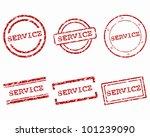 service stamps | Shutterstock .eps vector #101239090
