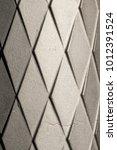 detail of diamond pattern of a... | Shutterstock . vector #1012391524