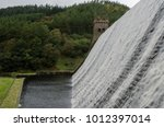 Water Flowing Over The Top The...