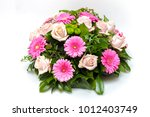 funeral wreath   ikebana... | Shutterstock . vector #1012403749