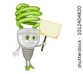 cartoon illustration of a... | Shutterstock .eps vector #1012404820