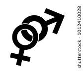 sex sign icon | Shutterstock .eps vector #1012410028