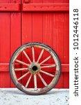 Antique Vintage Wooden Wheel...
