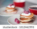 delicious american punkcakes... | Shutterstock . vector #1012462993