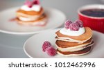 delicious american punkcakes... | Shutterstock . vector #1012462996