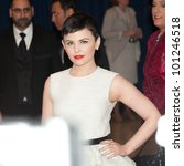 Small photo of WASHINGTON - APRIL 28: Ginnifer Goodwin arrives at the White House Correspondents Dinner April 28, 2012 in Washington, D.C.