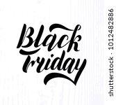 vector illustration of black... | Shutterstock .eps vector #1012482886
