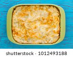 fresh oven baked pie with... | Shutterstock . vector #1012493188