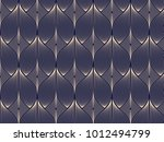 linear vector pattern ... | Shutterstock .eps vector #1012494799