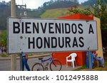 honduras border 05 05 2016  ... | Shutterstock . vector #1012495888
