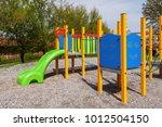 colorful children playground in ...   Shutterstock . vector #1012504150